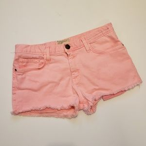 Current/Elliott | pink the boyfriend short